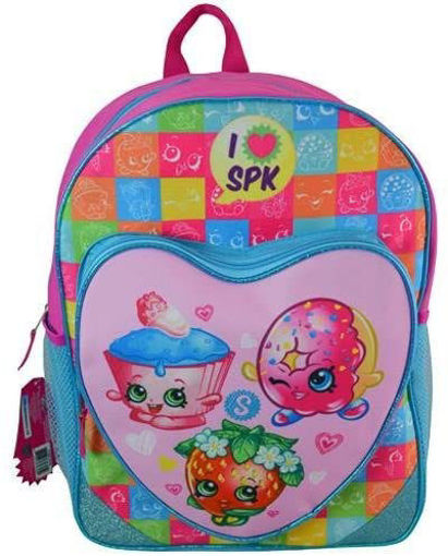 Picture of Shopkins 16'  Backpack Heart Shaped