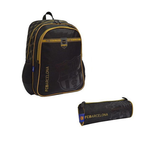 Picture of Barcelona Set Of 2Pcs Backpack/Round Pencil