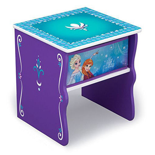 Picture of Frozen Side Table with Storage