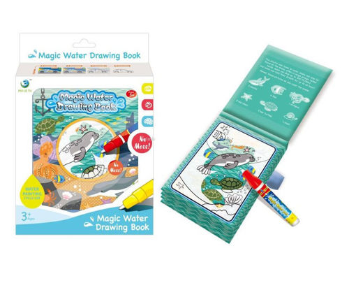 Picture of Magic Water Drawing Book, Ocean